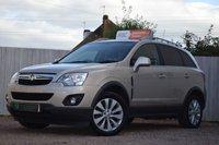 2013 VAUXHALL ANTARA 2.2 EXCLUSIV CDTI 5d AUTO 161 BHP £9000.00