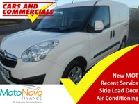 2014 VAUXHALL COMBO 1.3 CDTI 2000 L1 H1 Sportive 90ps £4995.00