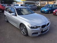 2014 BMW 3 SERIES 3.0 330D M SPORT TOURING 5d AUTO 255 BHP £22750.00