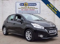 USED 2013 13 PEUGEOT 208 1.4 ACTIVE HDI 5d 68 BHP Bluetooth Free Tax 74+MPG 0% Deposit Finance Available