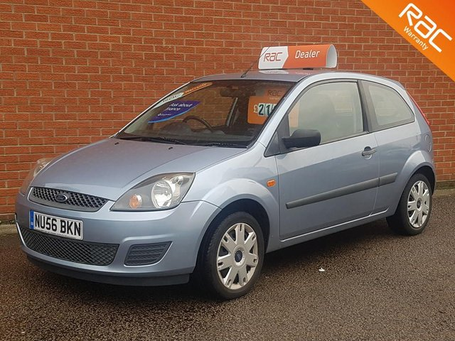 2006 56 FORD FIESTA 1.2 STYLE 16V 3d  LOW MILES