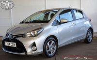 USED 2014 64 TOYOTA YARIS 1.5 HYBRID 'ICON' 5 DOOR AUTO 73 BHP Finance? No deposit required and decision in minutes.