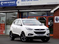 USED 2014 64 HYUNDAI IX35 1.7 CRDi SE NAV 5dr * Rear Camera & Sat Nav * *ONLY 9.9% APR with FREE Servicing*