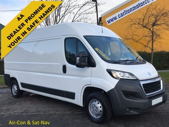 2015 PEUGEOT BOXER 2.2 HDI 335 L3H2 PROFESSIONAL [ A/C + NAV ] Van Ex Lease Free UK Delivery £8450.00