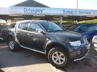 USED 2013 MITSUBISHI L200 2.5 DI-D 4X4 BARBARIAN LB DCB 1d 175 BHP NEED FINANCE? WE STRIVE FOR 94% ACCEPTANCE