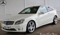 2010 MERCEDES-BENZ CLC CLASS CLC220CDi SPORT 3 DOOR AUTO 150 BHP £8990.00