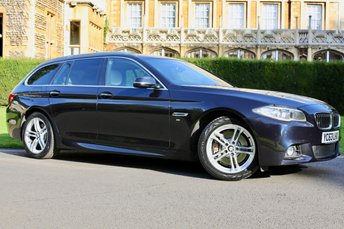 2013 BMW 5 SERIES 3.0 530D M SPORT TOURING 5d AUTO 255 BHP £17990.00