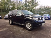 2007 NISSAN PATHFINDER 2.5 AVENTURA DCI 5d  SAT NAV, 7 SEATS AND FULL LEATHER £5750.00
