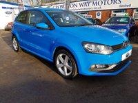 2014 VOLKSWAGEN POLO 1.2 SEL TSI 3d 109 BHP £9610.00