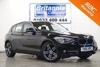 2014 BMW 1 SERIES 1.6 116I SPORT 5d 135 BHP £11690.00