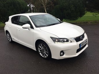 2013 LEXUS CT 1.8 200H ADVANCE 5d AUTO 136 BHP £11750.00