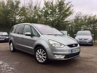 2009 FORD GALAXY  2.0 GHIA TDCI 5d AUTOMATIC 140 BHP.. 7 SEATS £6000.00