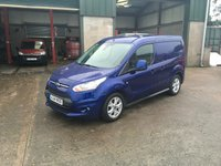 2014 FORD TRANSIT CONNECT 1.6 200 LIMITED P/V 1d 114 BHP £7250.00