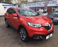 USED 2016 66 RENAULT KADJAR 1.6 DYNAMIQUE S NAV DCI 5d 130 BHP 0% FINANCE AVAILABLE ON THIS CAR PLEASE CALL 01204 317705