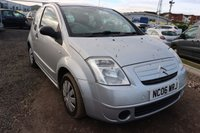 USED 2006 06 CITROEN C2 1.1 DESIGN 3d 60 BHP CLEARANCE AS IS . NOT AVAILABLE ON FINANCE.