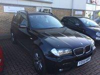 2008 BMW X3 3.0 D M SPORT 5d AUTO 215 BHP £8995.00