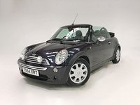 USED 2004 54 MINI CONVERTIBLE 1.6 COOPER 2d 114 BHP FULL LEATHER AND SAT NAV