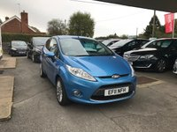 USED 2011 11 FORD FIESTA 1.4 TITANIUM 3d 96 BHP NEED FINANCE? WE CAN HELP. WE STRIVE FOR 94% ACCEPTANCE