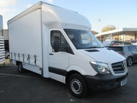 USED 2015 15 MERCEDES-BENZ SPRINTER 313 CDI LWB CURTAIN SIDE, LUTON 2.1 130 BHP 2015 (15) Plate