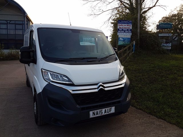 2015 15 CITROEN RELAY 2.2 30 L1 H1 ENTERPRISE HDI 110 BHP AIR CON NAV ELECTRICS