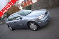 2004 VAUXHALL ASTRA 1.4 LS 16V 5d 90 BHP LOW MILES AIR CON GREAT CONDITION £1290.00