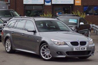 2008 BMW 5 SERIES 2.0 520D M SPORT TOURING 5d 177 LCI £6295.00