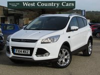 USED 2014 14 FORD KUGA 2.0 TITANIUM TDCI 5d 160 BHP Well Equipped Family Crossover