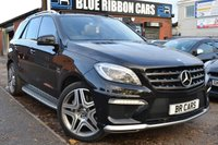 USED 2014 64 MERCEDES-BENZ M CLASS 5.5 ML63 AMG Speedshift Plus 7G-Tronic 5dr HUGE SPEC, PAN ROOF, REAR DVD