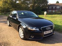 USED 2009 59 AUDI A4 2.0 TFSI 4d 208 BHP A/S/H, Climate Control