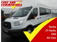 USED 2015 64 FORD TRANSIT MINIBUS 460 L4 H3 17-Seats 125ps (Air Con)