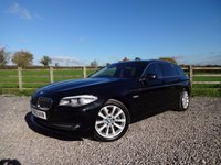 USED 2012 12 BMW 5 SERIES 2.0 520D SE TOURING 5d 181 BHP DEMO + 1 PRIVATE OWNER WITH FULL SERVICE HISTORY