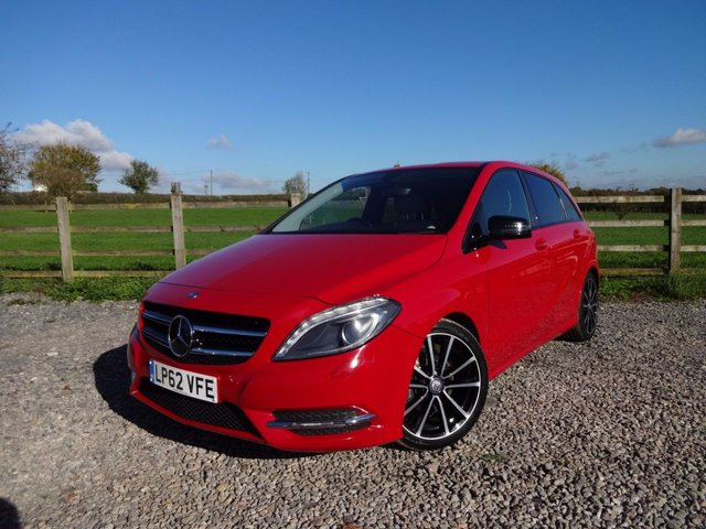 2013 62 MERCEDES-BENZ B CLASS 1.8 B180 CDI BLUEEFFICIENCY SPORT 5d 109 BHP
