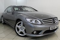 USED 2010 10 MERCEDES-BENZ CL 5.5 CL500 2DR AUTOMATIC 387 BHP MERCEDES SERVICE HISTORY + HEATED/COOLED LEATHER SEATS + SAT NAVIGATION + REVERSE CAMERA + ELECTRIC SUNROOF + BLUETOOTH + CRUISE CONTROL + MULTI FUNCTION WHEEL + 17 INCH ALLOY WHEELS