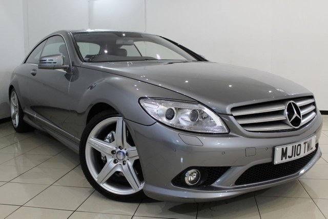 View our 2010 10 MERCEDES-BENZ CL 5.5 CL500 2DR AUTOMATIC 387 BHP