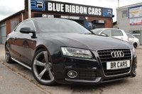 USED 2010 60 AUDI A5 3.0 TDI S Line Special Edition S Tronic Quattro 2dr SAT NAV, B+O, HEATED LEATHER