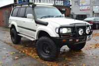 USED 1993 TOYOTA LAND CRUISER 4.2 TD VX 5dr OFF ROADER, EXPEDITION TRUCK