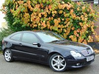 USED 2006 56 MERCEDES-BENZ C CLASS 2.1 C200 CDI SPORT EDITION 3d AUTO  **AUTOMATIC**DIESEL**