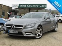 USED 2013 13 MERCEDES-BENZ CLS CLASS 3.0 CLS350 CDI BLUEEFFICIENCY AMG SPORT 4d AUTO 265 BHP Only 2 Owners From New, High Specification