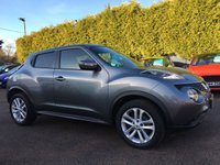 2014 NISSAN JUKE 1.2  DIG-T ACENTA PREMIUM 5d  SAT NAV, 1 LADY OWNER FROM NEW  £9000.00