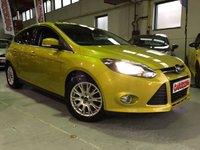 2011 FORD FOCUS 1.6 TITANIUM TDCI 115 5d 114 BHP £7995.00