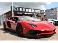2015 LAMBORGHINI AVENTADOR 6.5 1d LP 750-4 SV SUPERVELOCE 1 OF 600 £399990.00