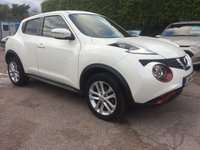 2014 NISSAN JUKE 1.2 DIG-T ACENTA PREMIUM  5d IN THE BEST COLOUR AND SAT NAV  £9250.00