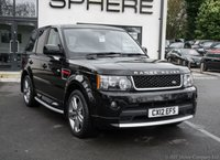 2012 LAND ROVER RANGE ROVER SPORT 3.0 SDV6 HSE RED 5d AUTO 255 BHP AUTOBIOGRAPHY BODY KIT £26990.00