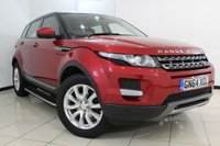 USED 2014 64 LAND ROVER RANGE ROVER EVOQUE 2.2 ED4 PURE TECH 5DR 150 BHP FULL SERVICE HISTORY + HEATED LEATHER SEATS + LOW MILEAGE + SAT NAVIGATION + SIDE STEPS + BLUETOOTH + CRUISE CONTROL + PARKING SENSORS + MULTI FUNCTION WHEEL + 19 INCH ALLOY WHEELS