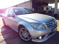 USED 2009 59 MERCEDES-BENZ C CLASS 2.1 C220 CDI BLUEEFFICIENCY SPORT 4d AUTO 170 BHP