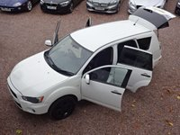 USED 2012 12 MITSUBISHI OUTLANDER 2.3 DI-D GX 2 5d 175 BHP LOW MILEAGE ONLY 53K, FULL SERVICE HISTORY
