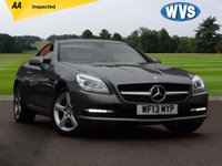 2013 MERCEDES-BENZ SLK 2.1 SLK250 CDI BLUEEFFICIENCY 2d AUTO 204 BHP £14299.00