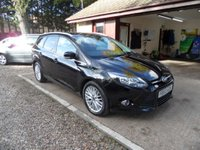 USED 2013 63 FORD FOCUS 1.6 ZETEC TDCI 5d 113 BHP 1 OWNER FROM NEW, FULL SERVICE HISTORY, £20 A YEAR ROAD TAX