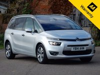2014 CITROEN C4 PICASSO 1.6 GRAND E-HDI AIRDREAM EXCLUSIVE PLUS ETG6 5d AUTO 113 BHP £11995.00