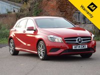 2014 MERCEDES-BENZ A CLASS 1.5 A180 CDI BLUEEFFICIENCY SPORT 5d AUTO 109 BHP £14495.00